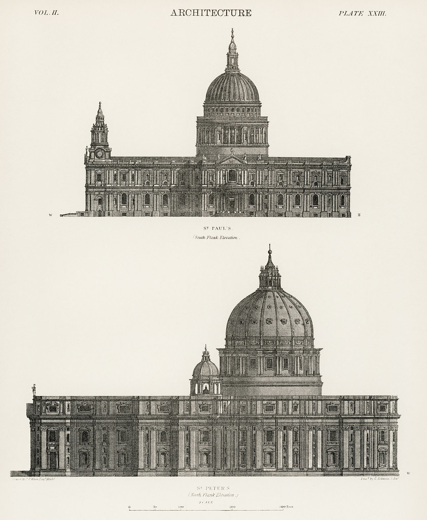 Architecture: St  Paul and St  Peters Cathedral from the b