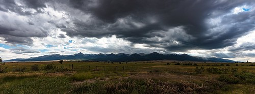 Storm over Sangres Pano
