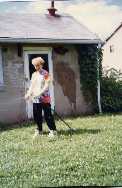me 17 years old june 1990