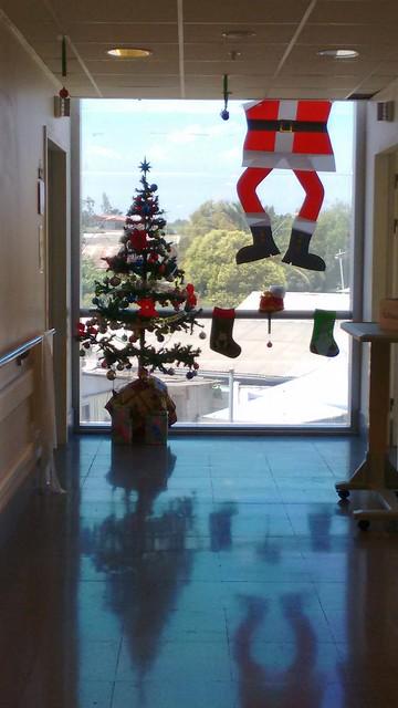Navidad hospital...