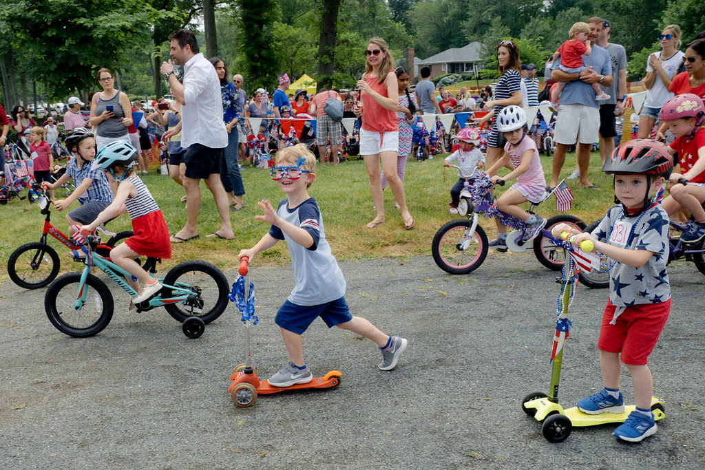 Summit Nj July 4th Children S Decorated Bicycle Parade