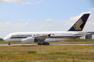 A380 Singapore Airlines 9V-SKZ | by XFW-Spotter