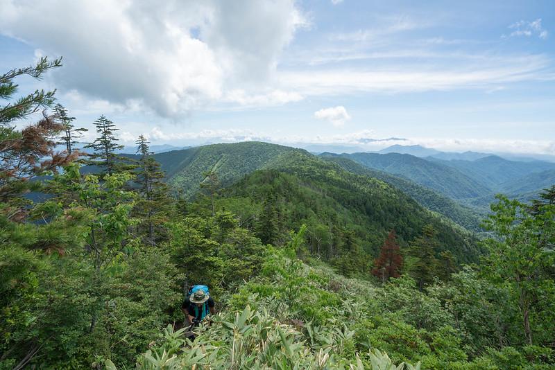 田代山から帝釈山