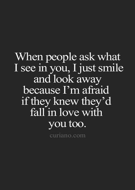 Love Quotes For Him : True... thanks for seeing me and mak ...