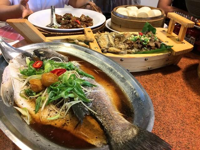 Dinner in Taiwan