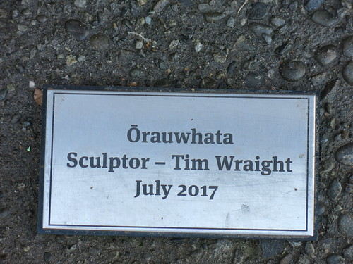 Sculpture by Tim Wraight at Ōrauwhata: Bishopdale Library and Community Centre