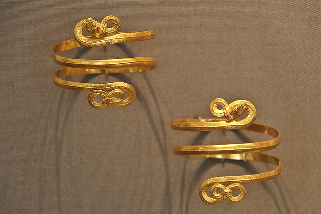 Gold Armlets from Tarentum (3rd century BC)