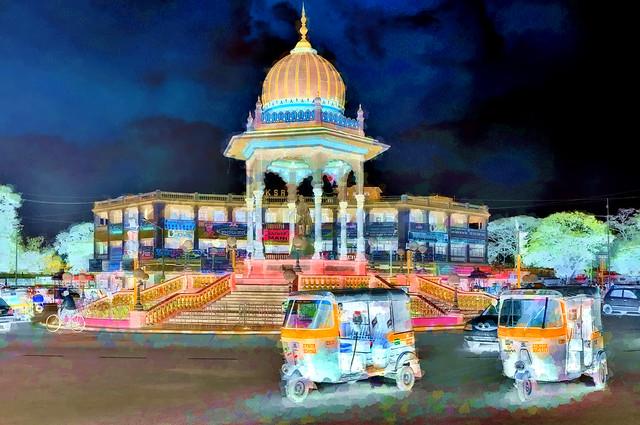India - Karnataka - Mysore - Chamaraja Wodeyar Circle  - 131bb