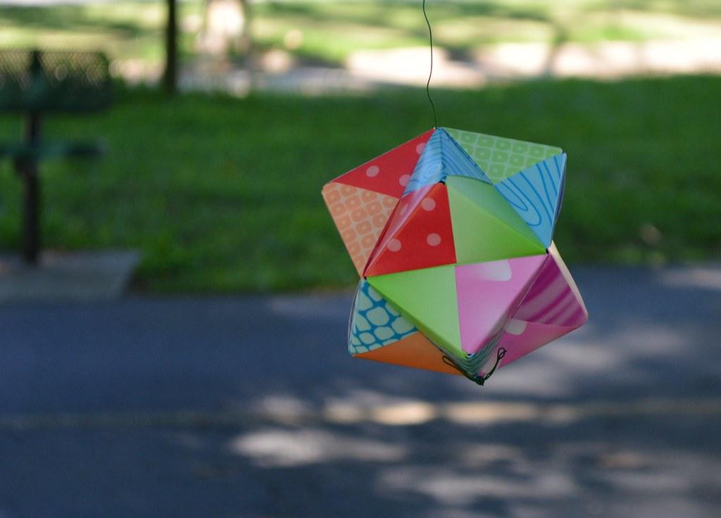 Modular Origami : Octahedron - YouTube   736x1024