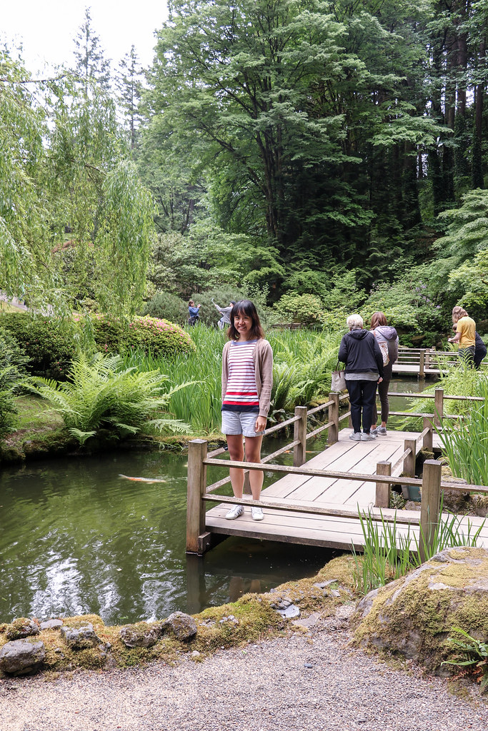 Day 16a portland japanese garden rose test garden flickr - Portland japanese garden free day ...