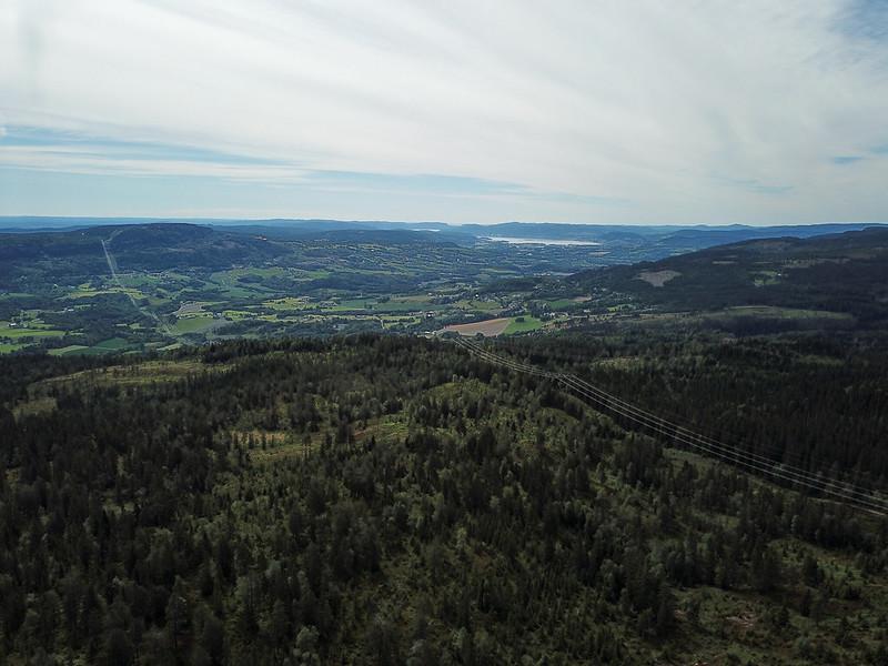 06-Utsikt mot Lier (drone)