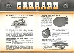 Garrard Descriptive List 1940's 2 3