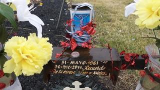 Roadside Memorial for Carlos Romero Espinoza (2 of 4)