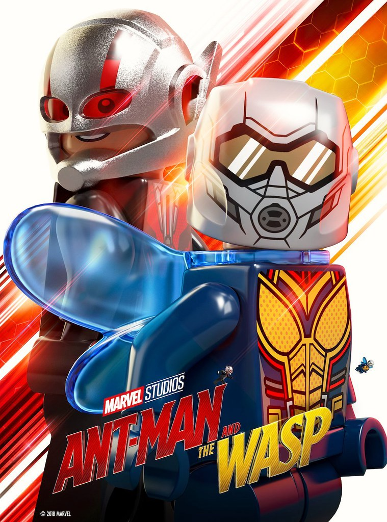 Lego Ant Man And The Wasp Movie Poster Lego Ant Man And Th Flickr