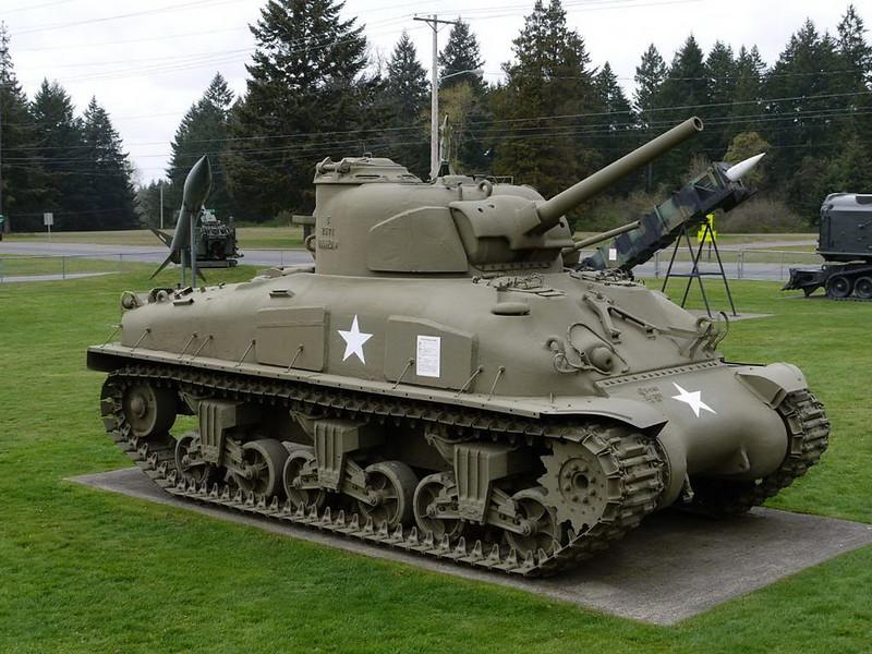 谢尔曼M4A1 4
