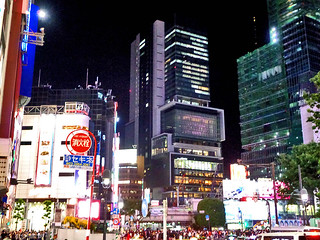 Shibuya by night 74 | by worldtravelimages.net
