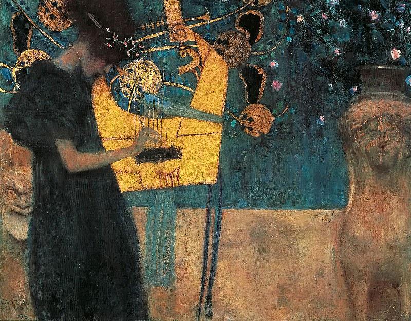 Алегорія музики, 1895