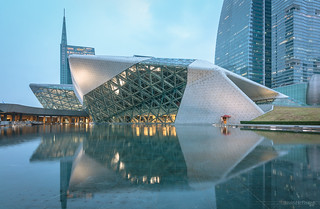 廣州歌劇院 Guangzhou Opera by kevinho86
