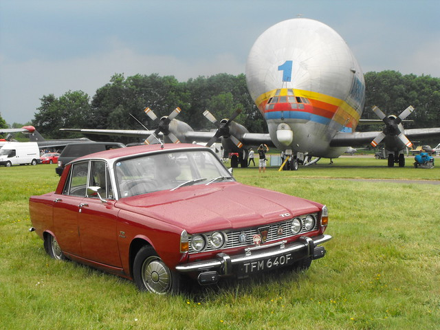 Rover 2000 TC  - TFM 640F @ Bruntingthorpe, May 2018 (1)