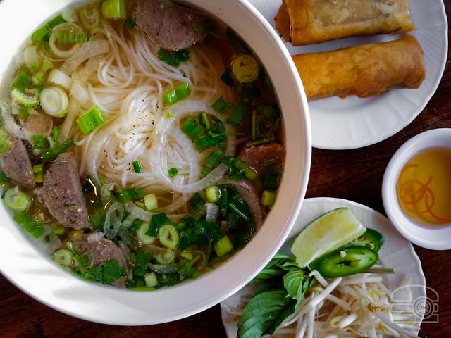 Pho w/ Meatball - Pho Hung