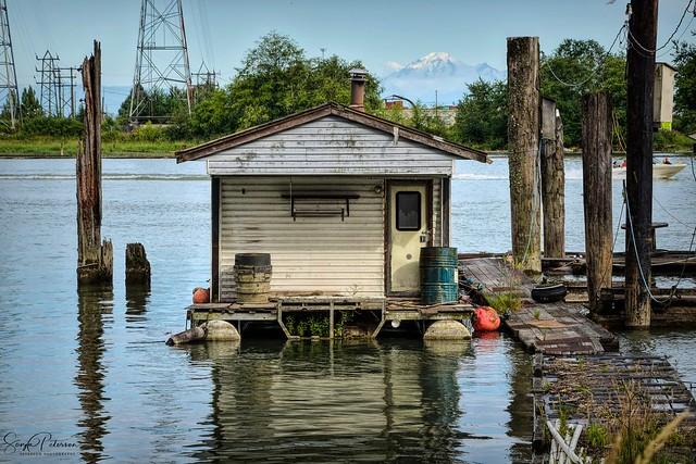 Old House Boat - Pitt River