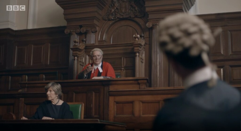 Mr Justice Green, High Court Judge for TV Documentary