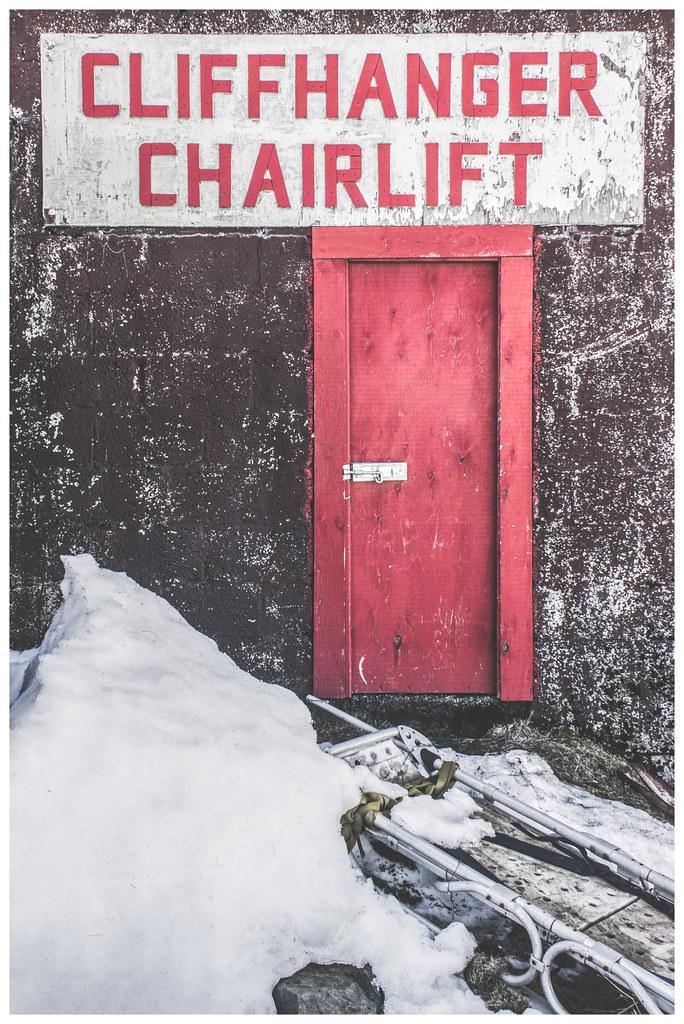 Cliffhanger Chairlift, Glencoe