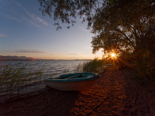 Colourful-Boat-Lake-Chiemsee | by OdenWALDfotograf