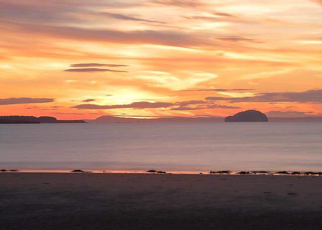 Bass Rock Sunset 2
