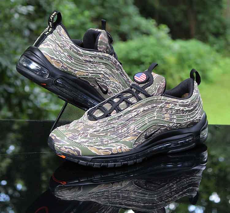 Nike Air Max 97 Premium QS USA Country Camo AJ2614 205 Men