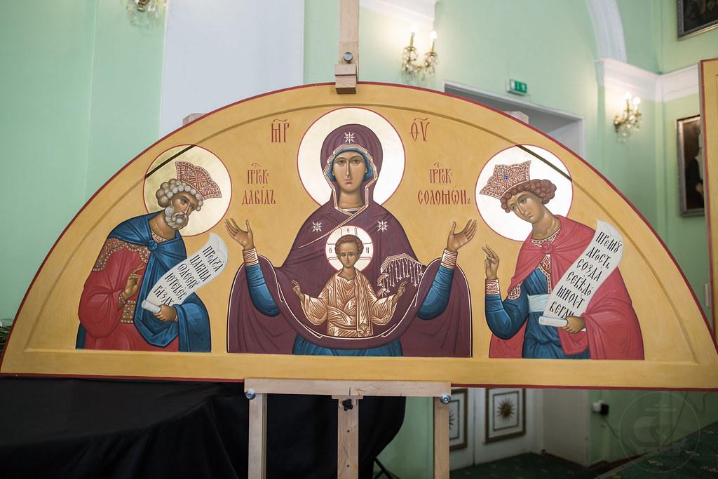 22 июня 2018, Смотр выпускных работ на иконописном отделении / 22 June 2018, Final works of the Iconographic Department review