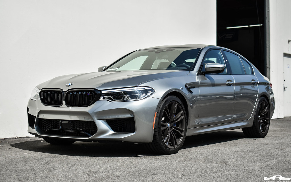 2018 Donington Grey F90 M5 Bmw M Black Kidney Grilles