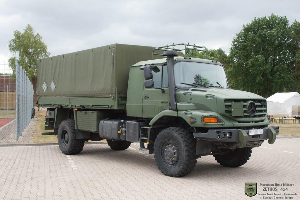 Mercedes Benz Zetros 4x4 Utily Military Truck For Logi Flickr