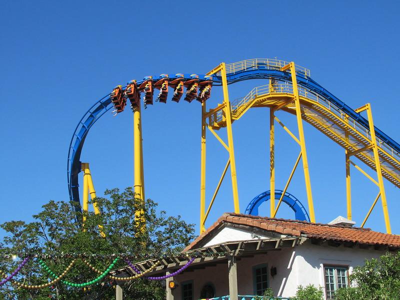 Goliath Six Flags Fiesta Texas