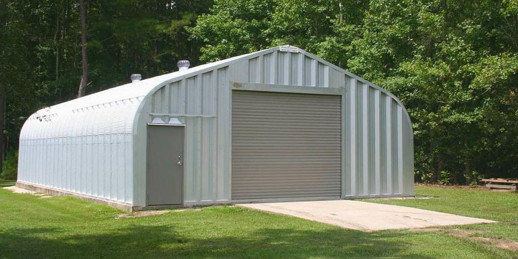 Steel garage   SteelMaster Buildings   Flickr