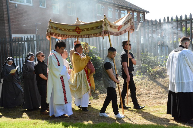 Open Air Mass and Procession