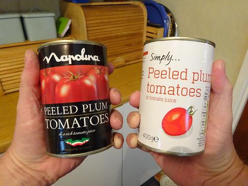 tinned tomato decision