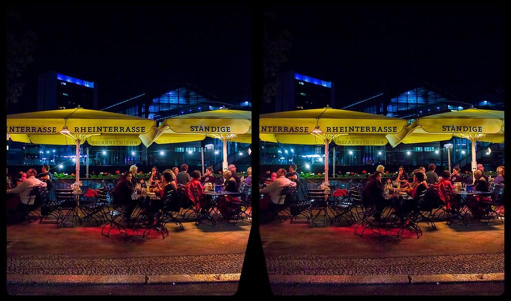Schiffbauerdamm, Berlin 3-D / CrossEye / Stereoscopy / HDRaw