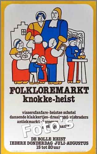 """Nieuw """"Folkloremarkt Traject"""" een schot in roos"""