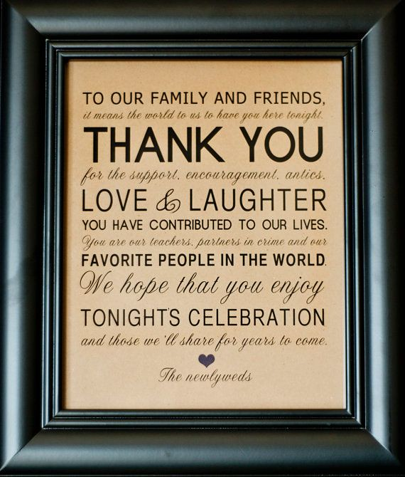 Love Quotes for wedding : Thank You Wedding Reception Sign ...