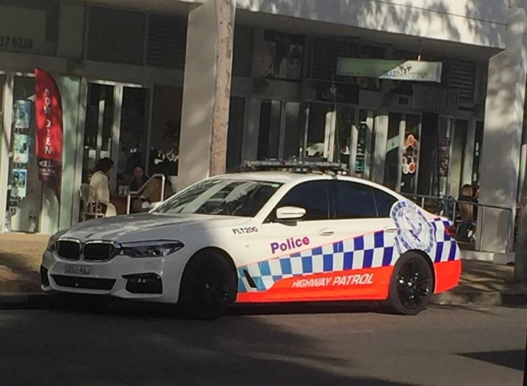 New BMW 750 NSW Police Highway Patrol Car Simonsees