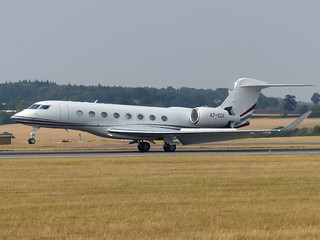 G650 A7-CGE   by gulfstreamchaser