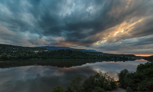 nikon d750 nikond750 irix 15mm irix15mm bulgaria dam pancharevo landscape trees water mountain sky clouds sunset colorfull