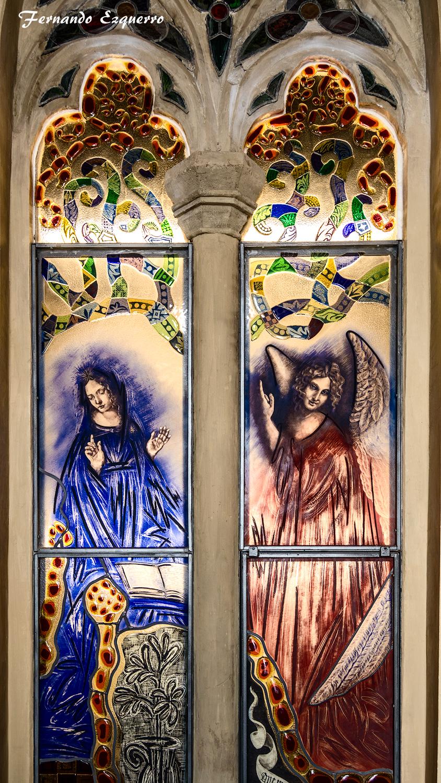 Paseo por el ándito de la iglesia de San Pedro