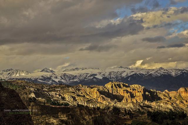 Cordillera Murillo al atardecer