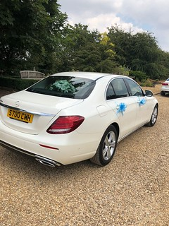 White Mercedes E class | by NottinghamChauffeurs