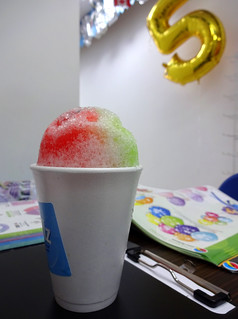 Snow cone at Snow Ballz, Croydon, London CR0 | by Kake .