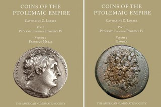Coins of the Ptolemaic Empire book covers | by Numismatic Bibliomania Society