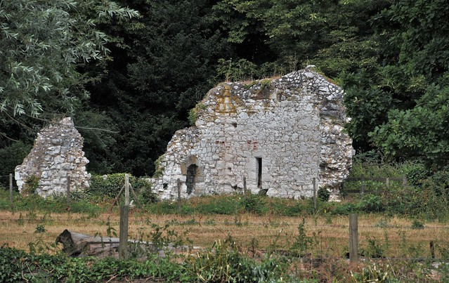 The Remains Of St Mary's Priory. A Benedictine Nunnery. Ankerwycke