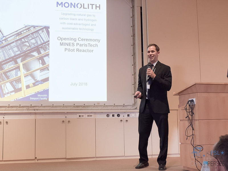 Pete JOHNSON  CTO MONOLITH Materials